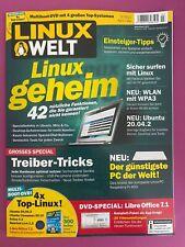 LINUX WELT  3.2021 April/Mai .. mit DVD .. Linux geheim .. NEU!!