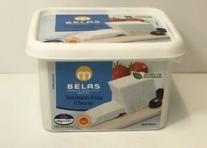 Authentic Greek Feta Cheese 1kg Drained Weight V Sheep & Goat Milk P.D.O