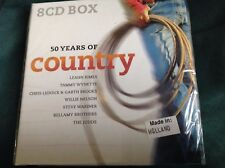 Rare Country 8 CD Box Set : 50 Years of Country ~ Disky DB 992822 Holland