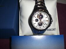 Seiko Coutura Perpetual Solar 2Tone Stainless Men's Watch SSC560,SNP008,SNP007