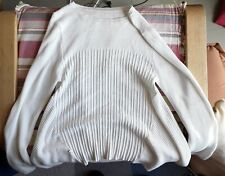 Brand New White Pullover Size Medium