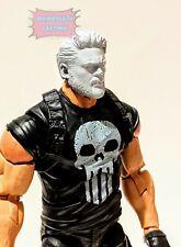 Unpainted Marvel Legends Billy Butcher from The Boys Head Sculpt Cast Custom