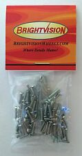 "100 3/8"" length 2-56 Stainless Hex-Drive Button-Head Screw-In Rivets For Customs"
