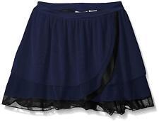 Capezio Girls' Kyla Pull On Skirt, Navy, XL