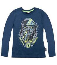 Star Wars The Clone Wars Rogue One Langarmshirt blau Gr.128