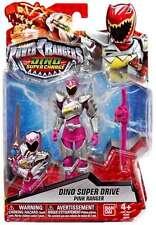Power Rangers Dino Super De Recharge 12.5cm Lecteur Rose Figurine
