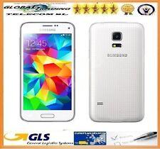 PHONE MOBILE SAMSUNG S5 MINI SM-G800F NEW WHITE BOX OPEN + INVOICE