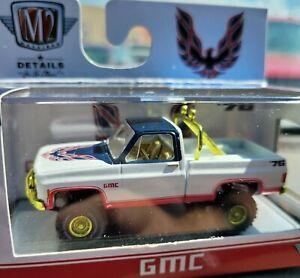 "M2 Machines '76 GMC Sierra Grande 15 4X4 Squarebody ""Chase""  1 of 750 Worldwide"
