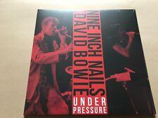 UNDER PRESSURE  NINE INCH NAILS & DAVID BOWIE  Double vinyl  Album ltd