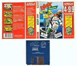 "©1986 Commodore Amiga/Code Masters BMX SIMULATOR 3,5"" Diskversion/16bit Arcade"