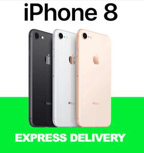 APPLE iPHONE 8 4G 64GB 128GB 256GB UNLOCKED SMARTPHONE REFURBISHED