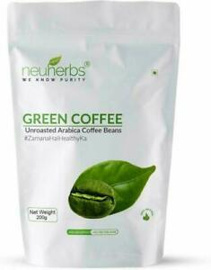 Neuherbs Unroasted Arabica Green Coffee Beans Organic For Weight Loss Select It