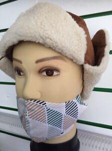 MEN'S HAT ANCIENT COURSE VELVET  HAT  WINTER WARM CAP TRAPPER FAUX FUR