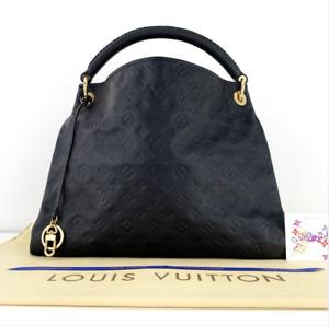Louis Vuitton Artsy Monogram Dark Blue Leather Shoulder CA3111 Spain Handbag