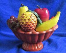 Vintage Fruit Basket Salt and Pepper Shaker Set - Japan