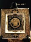 VERSACE ARCADIA GOLD MEDUSA ASH TRAY PLATE ROSENTHAL NEW in Box BEST GIFT IDEA