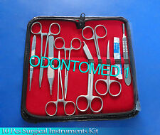 10 pcs Minor Student Surgery Surgical Instruments kit