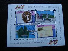 SUISSE - timbre - yvert et tellier bloc n° 26 obl (Z3) stamp switzerland (R)
