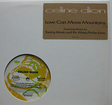 """CELINE DION Love Can Move Mountains REMIXES Promo 12"""""""