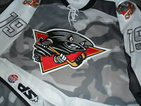 Joel Champagne 2011 Cincinnati Cyclones Game-Used Military Authentic ECHL Jersey