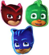 PJ Masks 3D Plush Shaped Cushion Owlette Catboy Gekko Childrens Soft Pillows