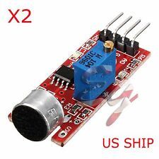 2X Microphone Sensor AVR PIC High Sensitivity Sound Module For Arduino