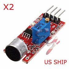 2X Microphone Sensor AVR PIC High Sensitivity Sound Module For Arduino