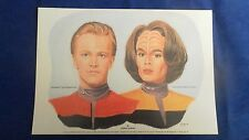 STAR TREK LIMITED EDITION PRINT TOM PARIS AND BELANNA TORRES