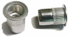 New listing Rivet nuts 1/4-20 aluminum100pc Buy 3 or More,10% Rebate(rivnut riv nut nutsert)
