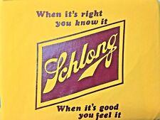 SCHLONG Vintage Schlitz Mock Beer Label Gold T-Shirt *Brand New* +Bonuses OPIVY