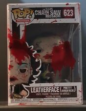 Funko Pop! Leatherface Texas Chainsaw Massacre 623 + blood splatter protector