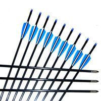 Archery Target Practice Arrows for Recurve, Compound and Traditional Longbow