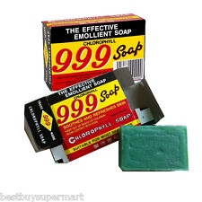 999 Chlorophyll Soap 90g X 10 pieces , for Itchy Skin Problems