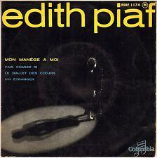 "EDITH PIAF ""MON MANEGE A MOI"" 50'S EP COLUMBIA 1174"