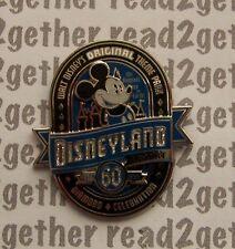 Disney Pin Dlr Diamond Celebration Event 60th Vintage Mickey