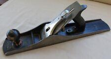 "VTG Stanley Bailey No.6 Woodworking Jointer Plane Corrugated Bottom Original 18"""