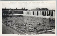 DEMING, New Mexico  NM    THE NATATORIUM  Mimbres Valley   Albertype Postcard