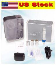 Ultima A6 DR.PEN Auto Electric Micro Needle Rechargeable Battery+2pcs Cartridges