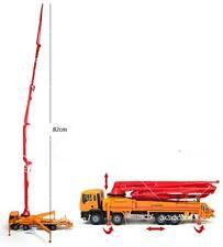 Orange 1:55 Concrete Pump Truck Construction Vehicle Diecast Model Car KaiDiWei