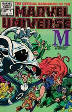 The Official Handbook of the Marvel Universe #7