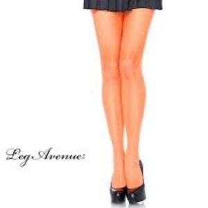 Leg Avenue Fishnet Pantyhose Assorted Color Nylon/Spandex Ladies Hose Reg & Plus