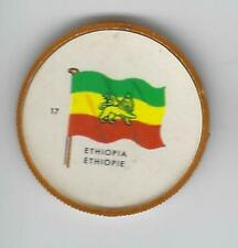 1963 General Mills Flags of the World Premium Coins #17 Ethiopia