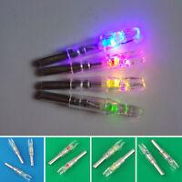 3Pcs Colored Hunting Lighted Nock Led Lighted Luminous Tail Arrow Nocks 6.2mm u2