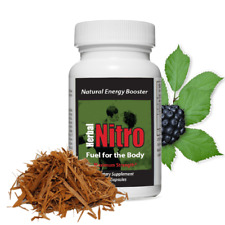 Fuel for the Body – Herbal Nitro® Powerful Natural Caffeine Energy Pills