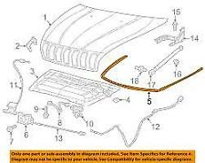 GENUINE NEW JEEP GRAND CHEROKEE BONNET SEAL 68103103AB