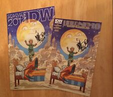 SIGNED By Gabriel Rodriguez Little Nemo Preview & 2014 IDW Catalog + PIC