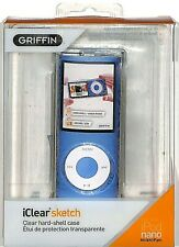 Griffin iClear Sketch clear case for iPod nano 4th Gen with Baroque pattern