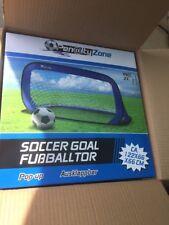 Penalty Zone Pop Up Goal Football Post Net Training Soccer Garden Toy Summer Fun