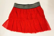 Candies Red Sparkle Tutu Sequin Skirt Girls Size 10 12 Christmas Holiday Party