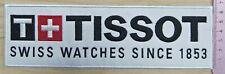 TISSOT white sponsor IIHF WHC jersey shoulder sleeve patch rare!
